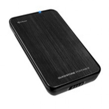 "Sharkoon Quickstore Portable Usb3.0 For 2.5"" Sata Hdds/ Ssds Enclosure (9.5mm) Qstore-usb3"