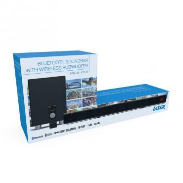 Laser Soundbar With Bluetooth And Wireless Sub-Woofer Spk-Sb140Sub