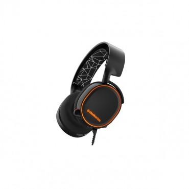 SteelSeries Black Arctis 5 Multi Platform 7.1 RGB USB & 3.5mm Headset SS-61443