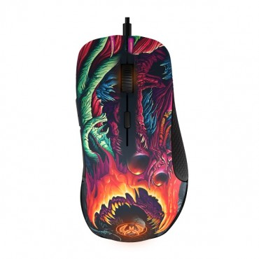 SteelSeries Rival 300 CS:GO Hyper Beast Edition 6500DPI RGB Gaming Mouse SS-62363