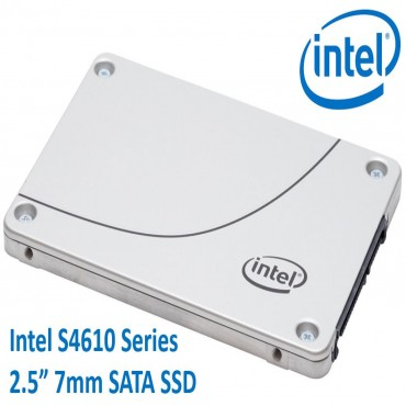 Intel Ssd Dc S4610 Series 240Gb 2.5In Sata 6Gb/S 3D2 Tlc Single Pack Ssdsc2Kg240G801