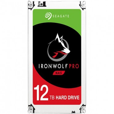 Seagate Ironwolf Pro 12 Tb Sata 3.5in 256mb 7200rpm Enterprise Nas St12000ne0007
