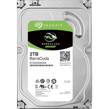 "Seagate Barracuda Desktop Internal 3.5"" Sata Drive 2tb 6gb/ S 7200rpm 2yr Wty St2000dm008"