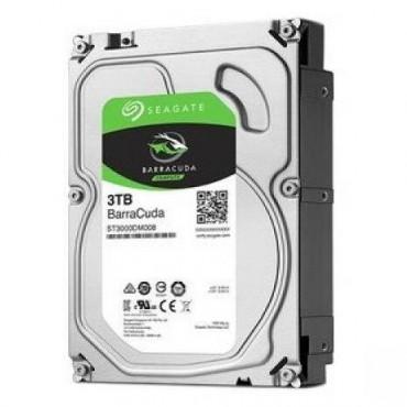 "Seagate Barracuda Desktop Internal 3.5"" Sata Drive 3tb 6gb/ S 7200rpm 2yr Wty St3000dm007"