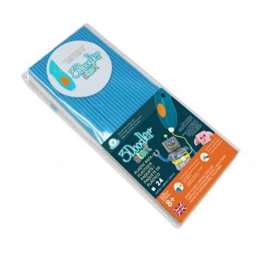 3Doodler Start Eco-Plastic-Ocean Blue 3Ds-Eco05-Blue-24
