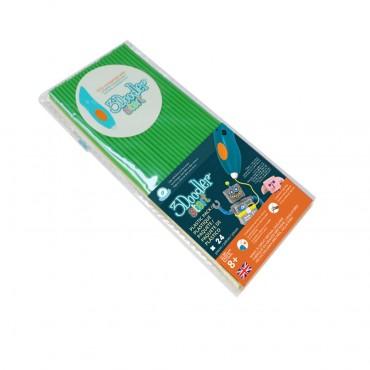 3Doodler Start Eco-Plastic-Spring Green 3Ds-Eco07-Green-24