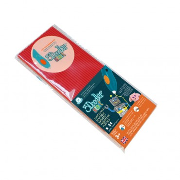 3Doodler Start Eco-Plastic-Cherry Red 3Ds-Eco03-Red-24