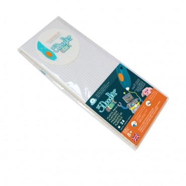 3Doodler Start Eco-Plastic-Simply White 3Ds-Eco01-White-24
