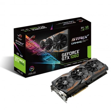 ASUS NVIDIA GEFORCE GTX1060 6G GDDR5, OC Mode - GPU Boost/ Base Clock: 1746 MHz/ 1531 MHz, Gaming