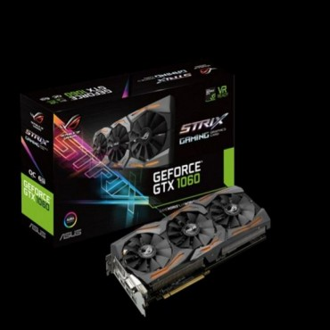 ASUS NVIDIA GEFORCE GTX1060 6GB GDDR5, OC Mode - GPU Boost/ Base Clock: 1873MHz/ 1645 MHz, Gaming