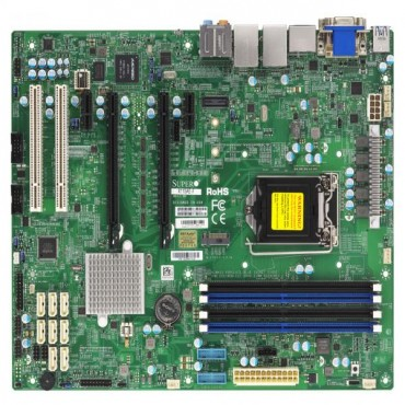 Supermicro Mbd-X11Sae-F-O Atx Server Motherboard Lga 1151 Intel C236 X11Sae-F