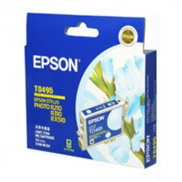 Epson T049590 LIGHT CYAN INK CARTRIDGE FOR RX630/ RX510/ R310/ R210, 430pages
