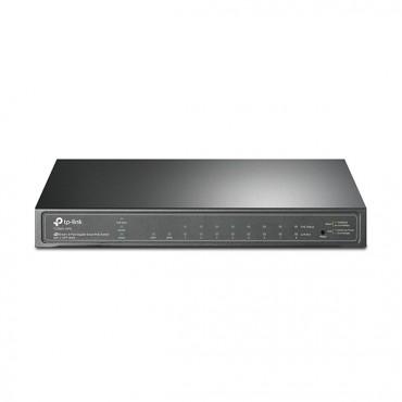 Tp-link (tl-sg2210p) 8 Port Gigabit Smart Switch Gbe(8) Poe(8) Sfp(2) T1500g-10ps(tl-sg2210p)