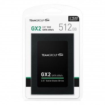 Team Gx2 2.5'' Sata Ssd 512Gb T253X2512G0C101