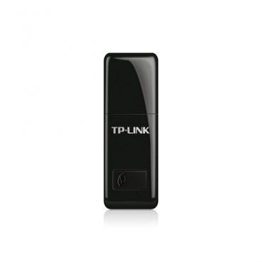 TP-Link USB Adapter: 300Mbps Mini Wireless N TL-WN823N