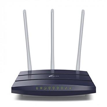 TP-Link Router: 450MB/ S Wireless N Gigabit 2.4GHZ 4 GBE LAN 5dBi*3 Omni Directional TL-WR1043N