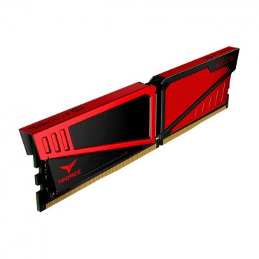Team T-Force Vulcan Series Single Channel Ddr4 2666Mhz 8Gb Red Tlred48G2666Hc15B01