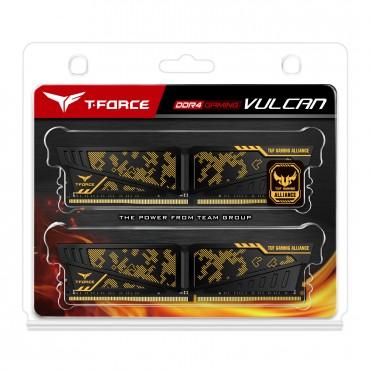 Team Tuf Gaming Alliance 32gb (2 X 16gb) Ddr4 3000mhz Dimm Yellow Heatspreader Tltyd432g3000hc16cdc01