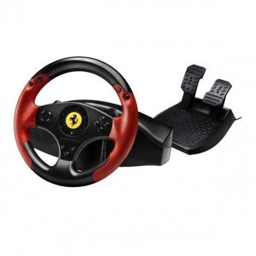 Thrustmaster Ferrari Red Legend Edition Racing Wheel For Pc & Ps3 Tm-4060052