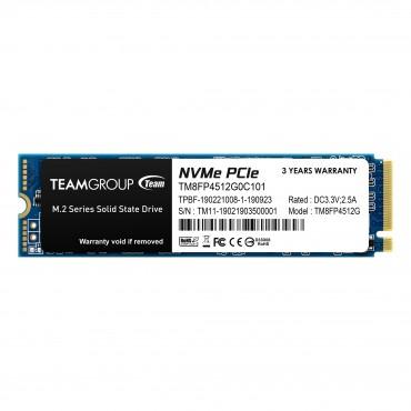 Team SSD M.2 Nvme (Mp34) 512Gb Tm8Fp4512G0C101