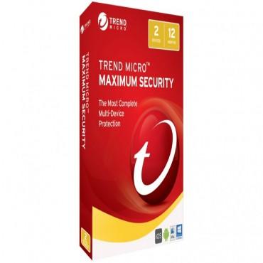 Trend Micro Maximum Security 2017 (1-2 Devices) 12mth Add-on Ticewwmbxsbjeo