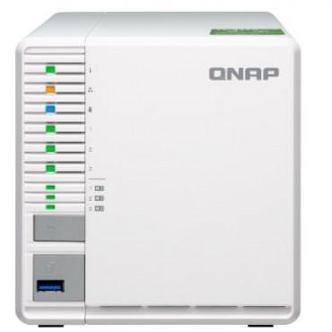 Qnap Ts-332x-4g 3 Bay Nas (no Disk) Al-324 4gb Usb 10gbe Sfp+(1) Gbe(2) Twr 2yr Ts-332x-4g