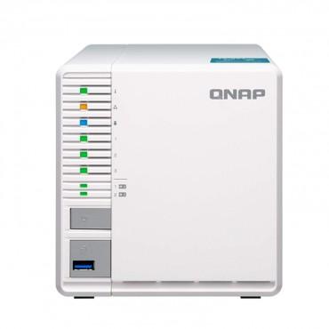 Qnap Ts-351-2G 3Bay Nas (No Disk) Cel-J1800 2Gb Gbe(1) Hdmi Twr 2Yr Wty Ts-351-2G