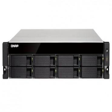 QNAP TS-832XU-4G 8 BAY NAS (NO DISK) 4GB AL-324 USB GbE(4) 10GbE SFP+(2) 2U 2YR. TS-832XU-4G