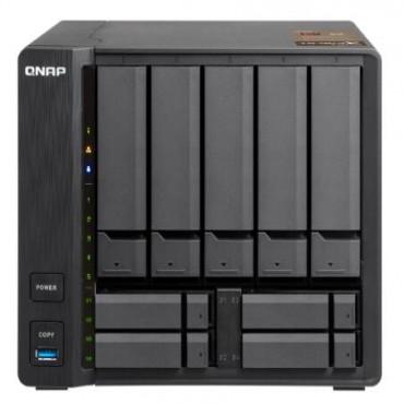 QNAP TS-963X-2G 5+4 BAY NAS (NO DISK) 2GB AMD GX-420MC GbE(1) 10GbE(1) TWR 2YR TS-963X-2G