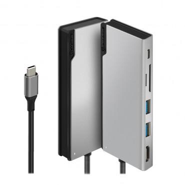 Alogic Ultra Usb-C Dock Uni - Sp/ Grey Ulduni-Sgr