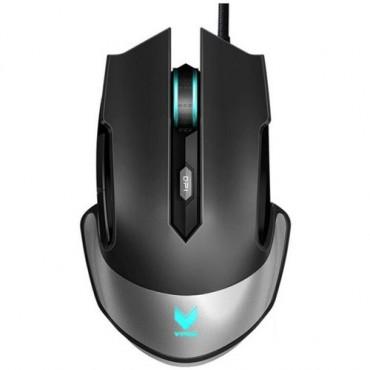 Rapoo V310 RGB Laser Gaming Black - Upto 8200dpi, Metal Finish