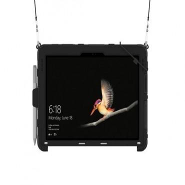 Griffin Survivor Slim Case W/ Shoulder Strap - Black - For Surface Go Gfb-012-Blk