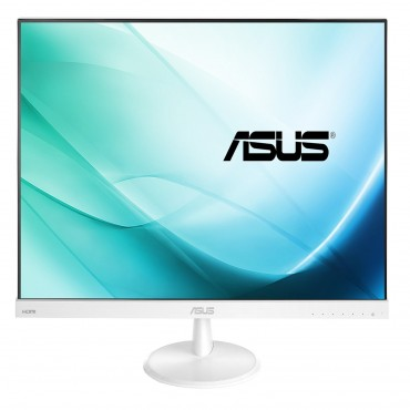 ASUS VC279H 27IN (WHITE) IPS-LED VGA/DVI/HDMI (16:9) 1920X1080 SPEAKERS TILT STAND VESA,