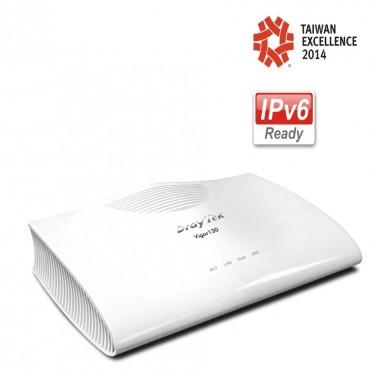 DrayTek Vigor130 VDSL2/ADSL2+ Modem/ Firewall Router (Vigor130 Annex A)