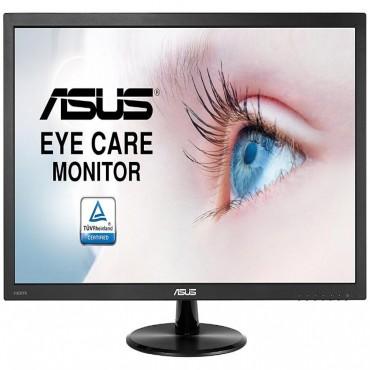 "Asus LED Monitor: 23.6"" (16:9)WLED 1920x1080 5MS Eye Care 80M:1 TUV HDMI D-SUB VESA Speaker VP247HA"