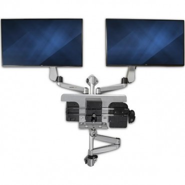 Startech Workstation Wall Mount - Dual Monitor Wallstsi2