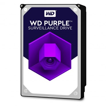 """Western Digital SURVEILANCE 3.5"""" DRIVE: 3TB PURPLE SATA3 6Gb/ s IntelliPower 64 MB WD30PURZ"""