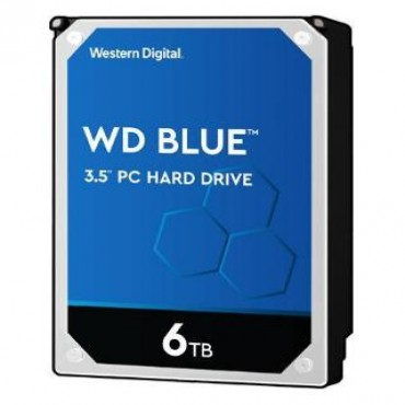 Western Digital 6Tb Blue 256Mb 3.5In Sata 6Gb/S 5400Rpm Wd60Ezaz
