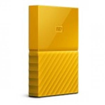 Western Digital 2tb My Passport Portable Hard Drive (yellow) Wdbs4b0020byl-wesn
