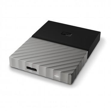 Western Digital My Passport Ultra 1tb Usb3.0 Portable Storage With Metal Finish - Black/ Grey Wdbtlg0010bgy-wesn
