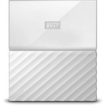 "Western Digital Portable 2.5"": 1Tb My Passport Usb3.0 Reimagined Design. White Wdbynn0010Bwt"