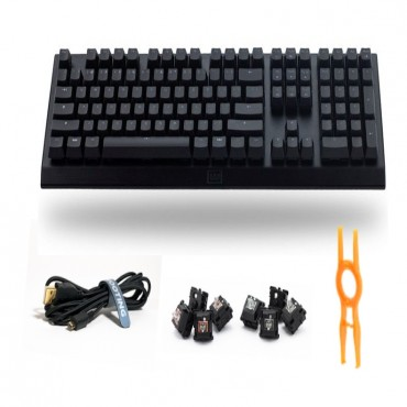 Wooting Two Red Us Full-Size Analog Mechanical Program Gaming Keyboard Wootingtwousred