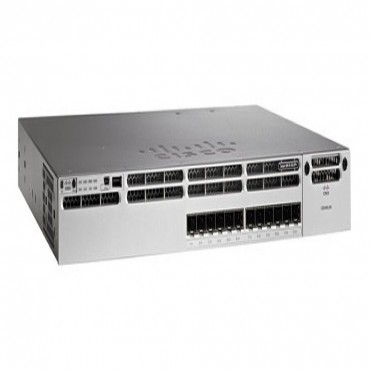 CISCO (WS-C3850-12XS-S) CISCO CATALYST 3850 12 PORT 10G FIBER SWITCH IP BASE WS-C3850-12XS-S