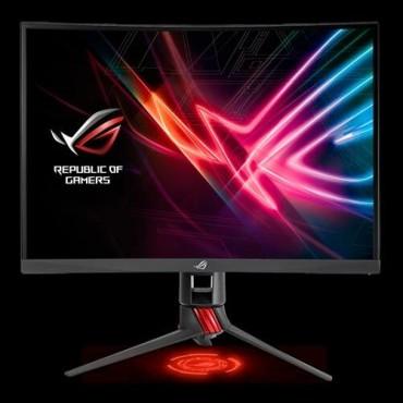 "ASUS ROG STRIX XG27VQ 27"" Curved FHD Gaming 144Hz Eyecare Free-Sync HAS GamePlus DP HDMI Game Visual"