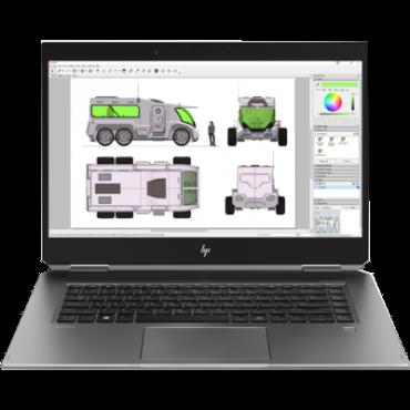 "Hp Zbook Studio X360 G5 15.6"" Fhd Ts I7-8750H 8Gb 256Gb Ssd P1000 4Gb Pen Wwan W10P64 3Yr Wty"