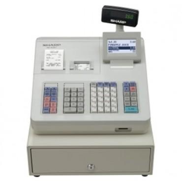 Sharp Xea307 Electronic Cash Register/ Raised Keyboard/ White. Replaces Model Xea303. Xea307