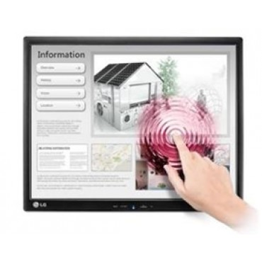 "Lg 17mb15t Blk 17"" Led Tn Touchscreen, 4:3 5ms, 1280x1024 Resolution, 2000:1 Contrast, Vesa 75x75"