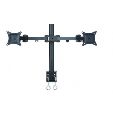 "Speed Swivel 13"" - 27"" Dual Monitor Arm Up To 10Kg Per Each Vesa 100X100 Life Wty Mnt-Speed-Lcd482/D"