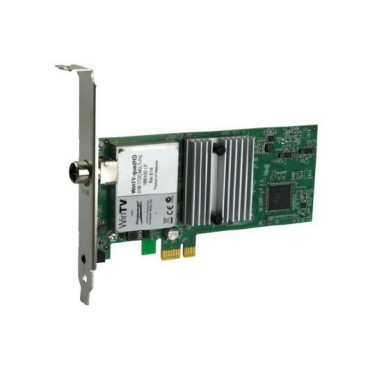 Hauppauge Quadhd Four Hdtv Tuners In One Pcie Card With Remote For Windows Watch Or Record Up To