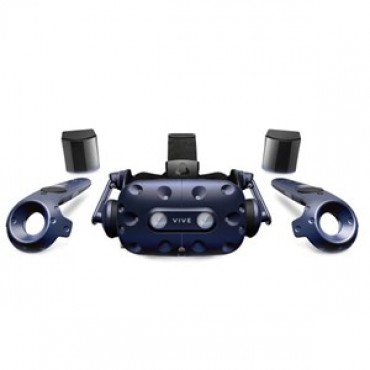 Htc Vive Pro Kit (vive Pro Hmd 2x Controllers 2 X 2018 Trackers) 99hanw007-00